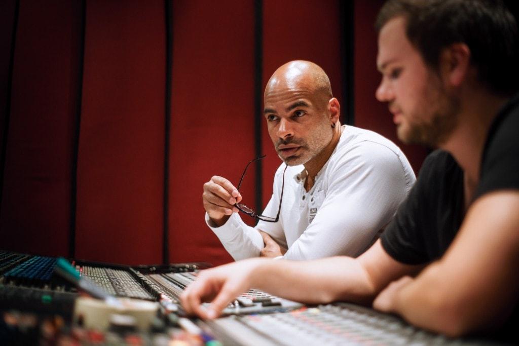 Dan Stein im Studio
